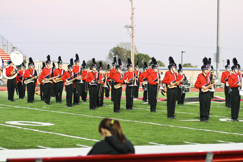 Band Performance at Rose Hill - Circle Football game.