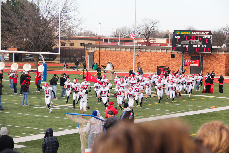 Rose Hill Rockets at the State Championship Game