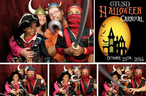 GTUSD Halloween Carnival 10.25.14 Photo Strips