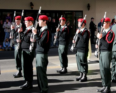 Galena High School Veteran's Day Parade 2005
