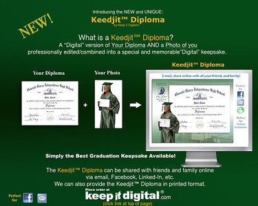2013 Garza Keedjit™ Diploma Proof Photos