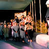 """Billy goat Sage Wolf, far right, has some words for troll  Carter Schuller during dress rehearsal of the Gold Hill School play. The  plays are Little Red Riding Hood, Three Billy Goats Gruff and the Three Pigs, told from the perspective of the villains. For more photos and a video of the rehearsal, go to  <a href=""""http://www.dailycamera.com"""">http://www.dailycamera.com</a>.<br /> Cliff Grassmick / December 16, 2009"""
