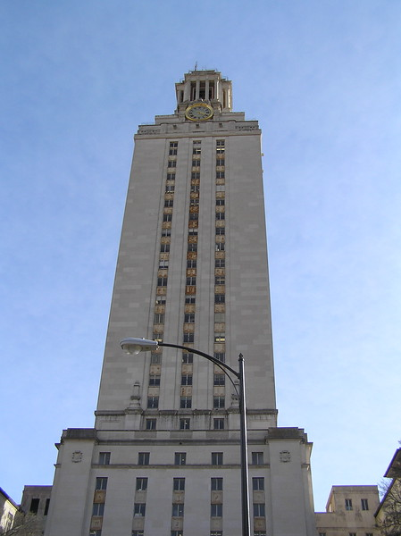 UT Clocktower (doesn't quite compare to Cornell's)