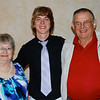 Jeremy with Grandma and Grandpa Wulf.