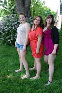Morgan, Christine, Sarah.
