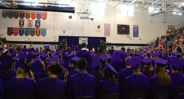 Tassels to the right -- they've graduated!