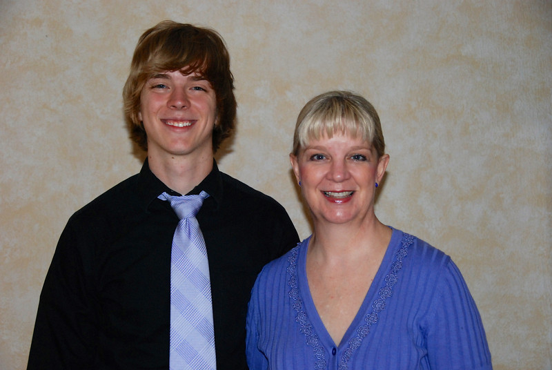 Jeremy and mom
