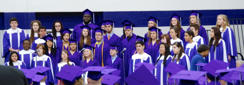 Bellevue East choir.