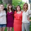 Morgan, Sarah, Christine and foster sister Valencia Dotson.