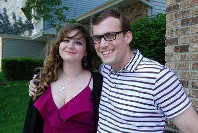Sarah and her brother.