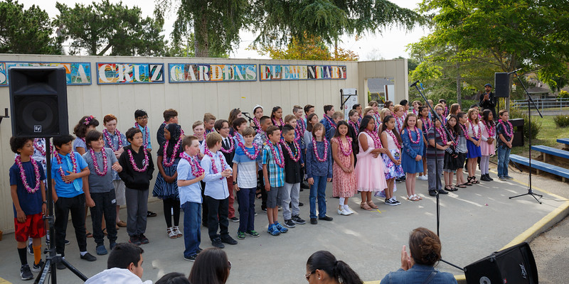 Santa Cruz Gardens School: 5th Grade Students