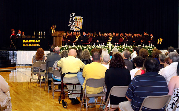 Daleville High School graduation.