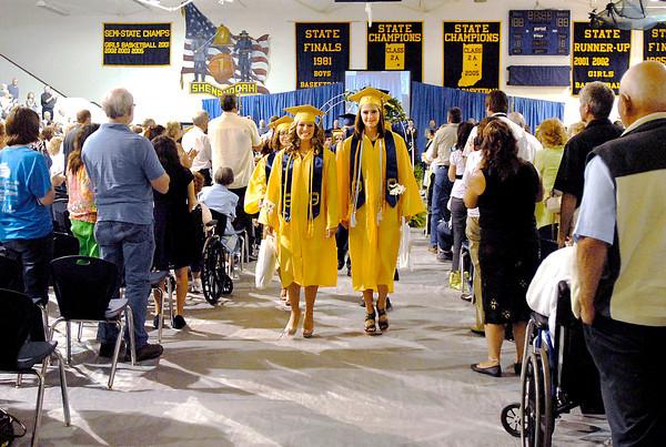 The 2012 Shenandoah High School Commencement