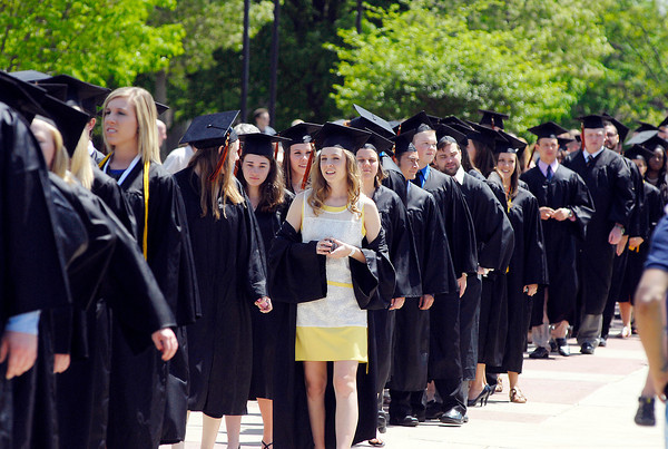John P. Cleary   The Herald Bulletin<br /> The 96th Commencement of Anderson University.