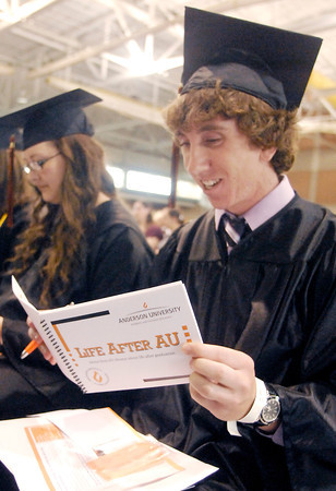 John P. Cleary | The Herald Bulletin<br /> The 96th Commencement of Anderson University.