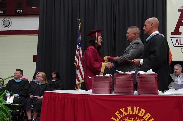 2017 Alexandria Monroe Graduation.
