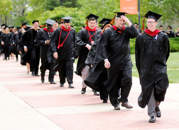 Don Knight | The Herald Bulletin<br /> Anderson University held their 99th Commencement on Saturday.