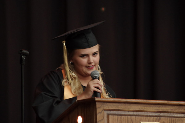 Mark Maynard   For The Herald Bulletin<br /> Daleville held their Commencement on Friday.