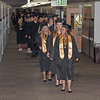 Mark Maynard | For The Herald Bulletin<br /> The Class of 2017 walks the halls of Daleville High School for the last time as students on their way to commencement exercises.