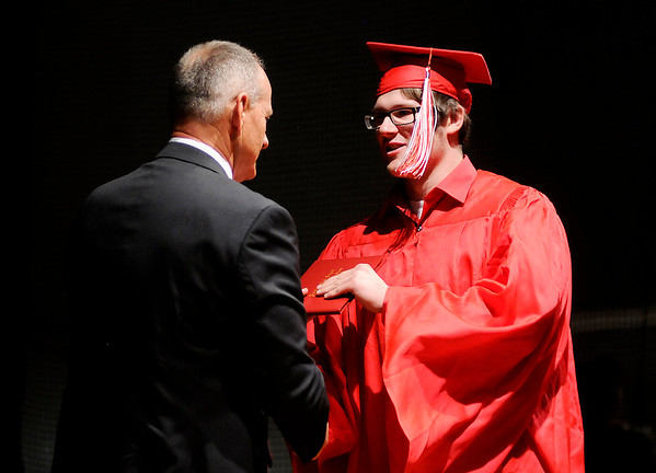Don Knight   The Herald Bulletin<br /> Frankton held their Commencement on Friday.