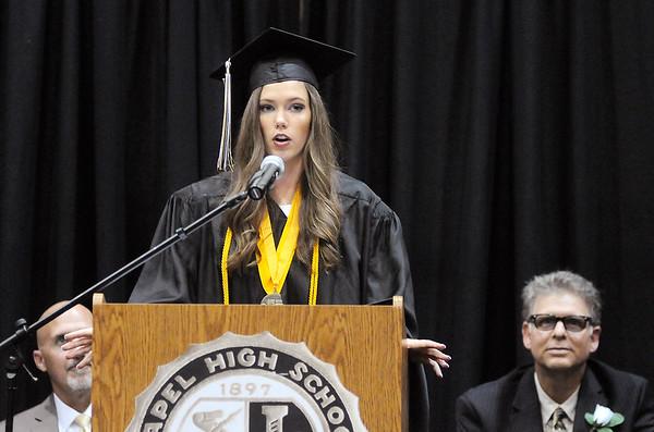 Don Knight   The Herald Bulletin<br /> Lapel held their graduation on Saturday.