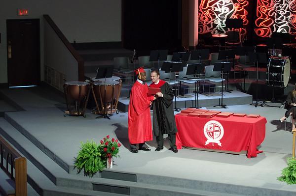 Mark Maynard   For The Herald Bulletin<br /> Liberty Christian held their graduation on Saturday.