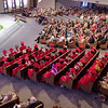 Mark Maynard | For The Herald Bulletin<br /> Family and friends gathered with the LIberty Christian High School Class of 2017 in the East Side Church of God sanctuary on Satuday for graduation ceremonies.