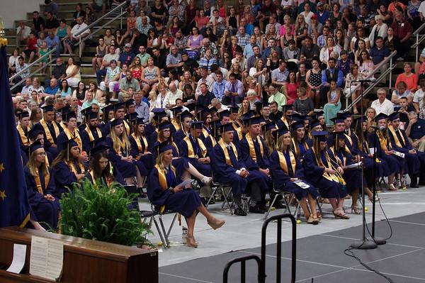 2017 graduation of Shenandoah High School.