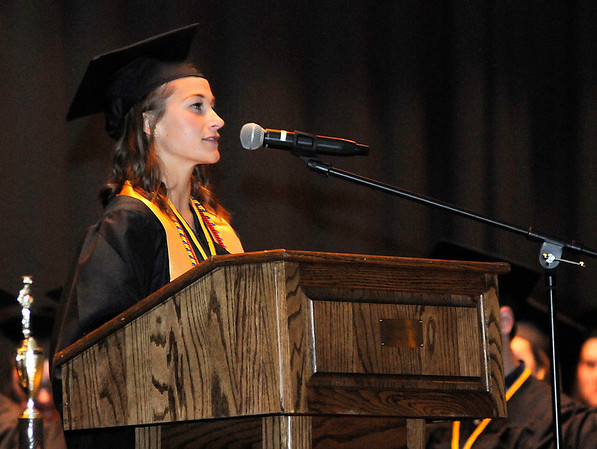 Don Knight | The Herald Bulletin<br /> Daleville held their graduation on Friday.