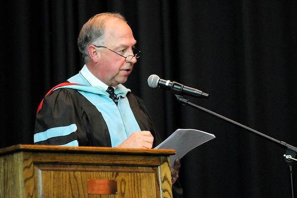 Don Knight   The Herald Bulletin<br /> Daleville held their graduation on Friday.