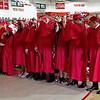 After receiving their diplomas, the Frankton High School Class of 2018 turn their tassles.