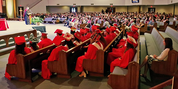 The Liberty Christian Class of 2018 gathered with family and friends at Eastside Church of God for commencement exercises on Saturday.