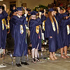 Mark Maynard | for The Herald Bulletin<br /> Members of the Shenandoah Class of 2018 turn their tassels to signify their status as graduates.
