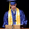 APA Valedictorian jPreston McNeal delivers his Commencement Address to his fellow Graduates.  (Mark Maynard photo)