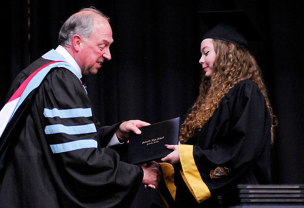 Don Knight | The Herald Bulletin<br /> Daleville held their Commencement for the Class of 2019 on Friday.