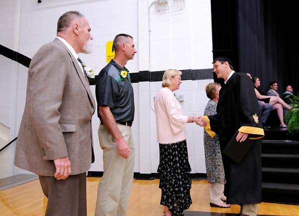 Don Knight   The Herald Bulletin<br /> Daleville held their Commencement for the Class of 2019 on Friday.