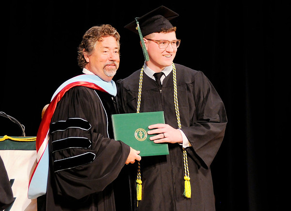 Don Knight   The Herald Bulletin<br /> Ivy Tech commencement on Tuesday.