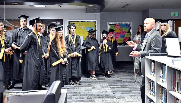Daleville Junior-Senior High School Class of 2021 Graduation.