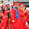 Frankton Jr/Sr High School graduation.