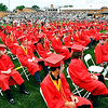 The class of 2021 of Frankton Jr/Sr High School.