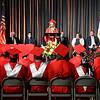 Liberty Christian High School co-salutatorian Irelynd Evans addresses her classmates.