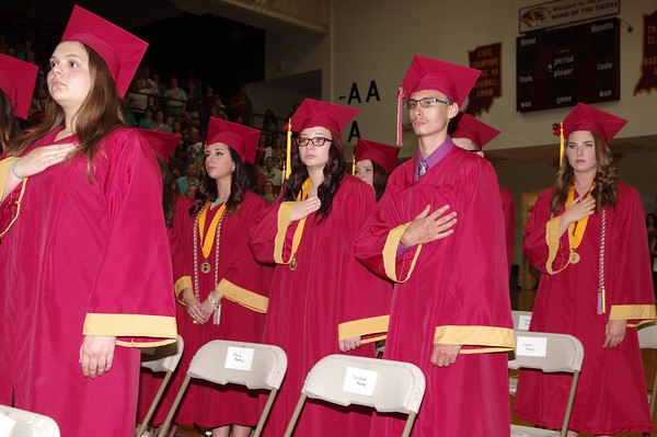 Mark Maynard | for The Herald Bulletin<br /> The 2016 Alexandria-Monroe High School Graduation.