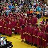 Mark Maynard | for The Herald Bulletin<br /> The 2016 Alexandria-Monroe High School Graduation.