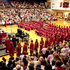 The Alexandria-Monroe High School gymnasium was packed with friends and family on Friday night as the 112 members of the Class of 2016 received their diplomas.