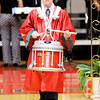 Don Knight | The Herald Bulletin<br /> A drummer leads the processional during the Anderson High School graduation on Sunday. Anderson's Class of 2016 included 387 graduates.