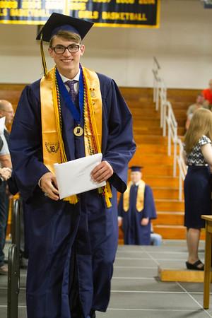 Bob Hickey   for The Herald Bulletin<br /> 2016 Shenandoah High School graduation.