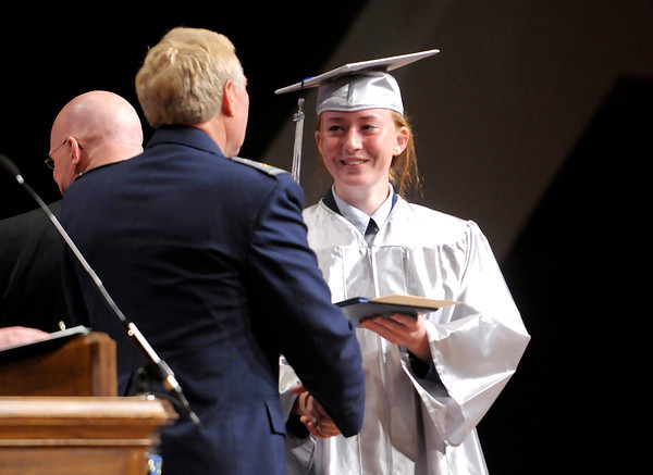 Don Knight   The Herald Bulletin<br /> Anderson Preparatory Academy graduated their third class in a ceremony at Reardon Auditorium on Sunday.