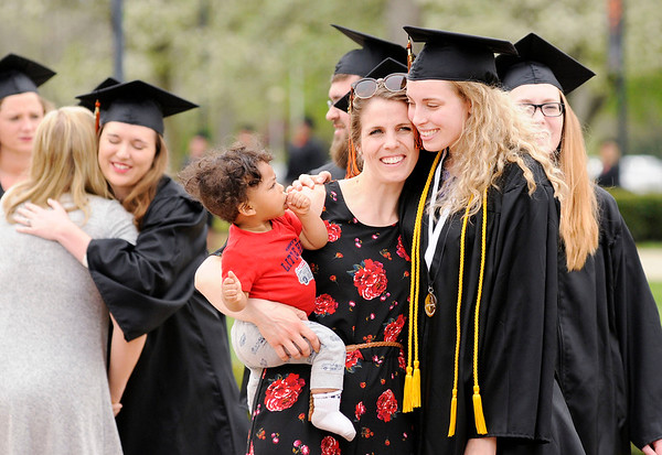Don Knight   The Herald Bulletin<br /> Anderson University held their 100th Commencement on Saturday.