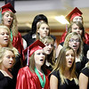 Anderson High School graduation at the Kardatzke Wellness Center on the campus of Anderson University on Sunday.