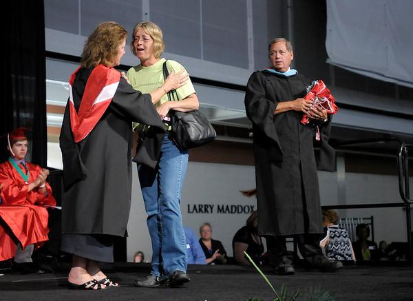 Anderson High School graduation at the Kardatzke Wellness Center on Sunday.